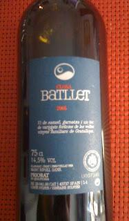 Closa Batllet 2005. DOQ Priorat