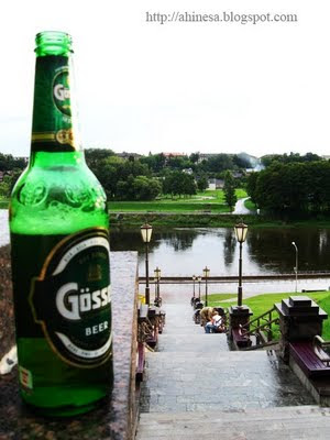 пиво гессер, Гродно, Неман, лестница