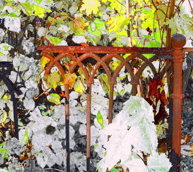 ворота, ограда