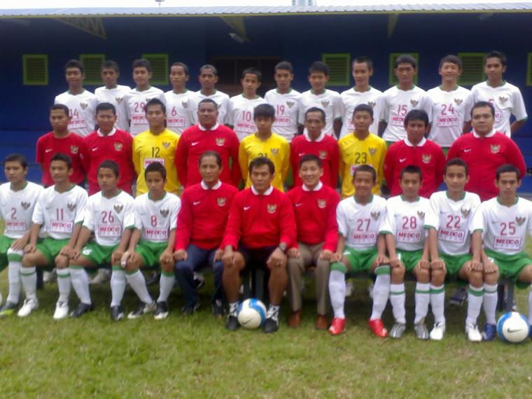 Skuad Timnas Indonesia U-16 tahun 2007