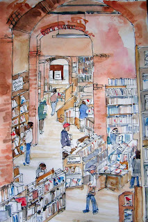 Elliott Bay Books - view from the Travel Loft