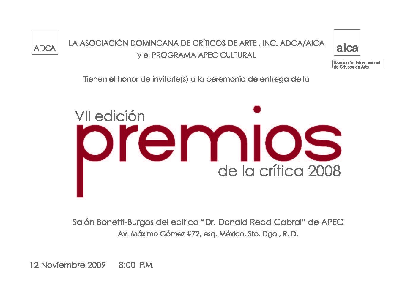 2009 ~ AICA   ADCA