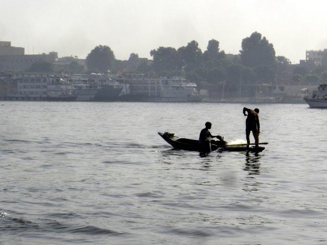 Pesca en Nilo
