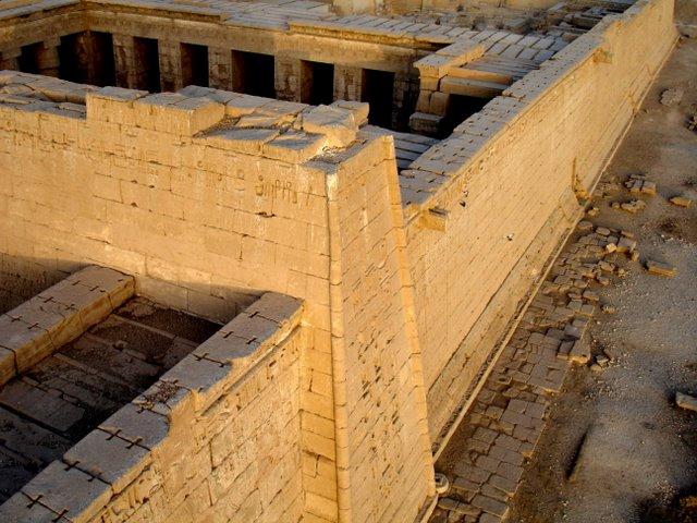 Jeroglificos en el Templo.