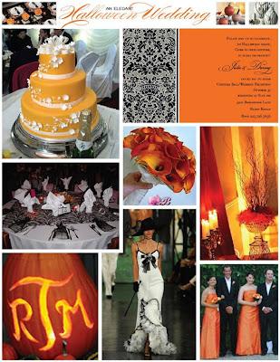 Rebecca Blogs Halloween Inspired Wedding
