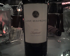 Lone Madrone 2006 Barfandel at the Smoke House