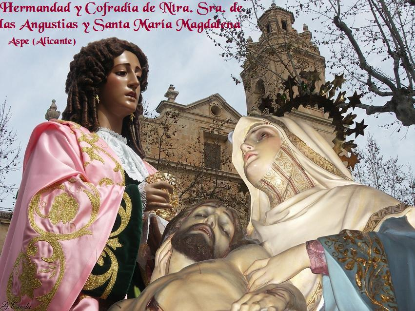 MADRE DE LAS ANGUSTIAS Y SANTA MARIA MAGDALENA
