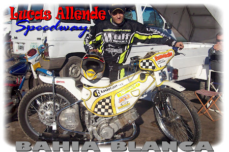 Web oficial del piloto Bahiense Lucas Allende