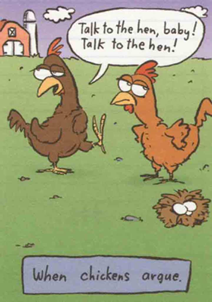 History of Chicken Talk