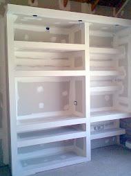 Fotos de muebles hechos en durlock Divendo Casas - fotos de muebles de durlock