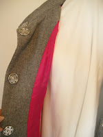 fall coat, winter coat, jacket, handmade coat, grey wool coat, gray wool coat, dress coat