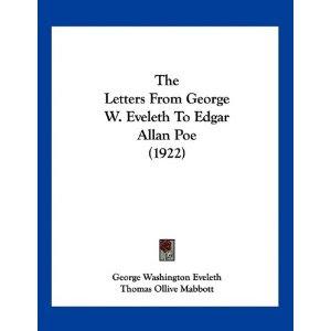 George W. Eveleth and Edgar Allan Poe