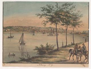 Edgar Allan Poe and Albany NY