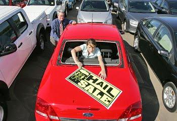 Hail Damaged Car Sales Texas