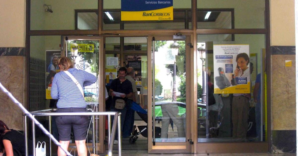 Barakaldo digital los usuarios de la oficina central de for Oficina central correos madrid