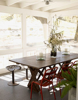 Porch life lacquered life for Furniture 4 less napa