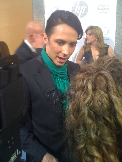 johnny weir boyfriend. Johnny Weir looking M.A.C
