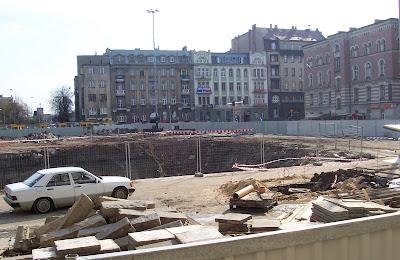 Łódź, plac Dąbrowskiego