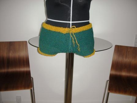 strikket shorts opskrift