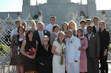 Our wedding with the whole family