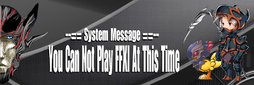(Jess's Blog) You Can Not Play Final Fantasy XI