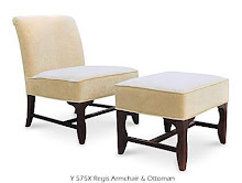 Shop occasional chair & ottoman