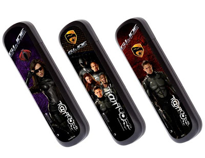 Dress up your USB Modem with these GI JOE skins from Globe Broadband Tattoo.