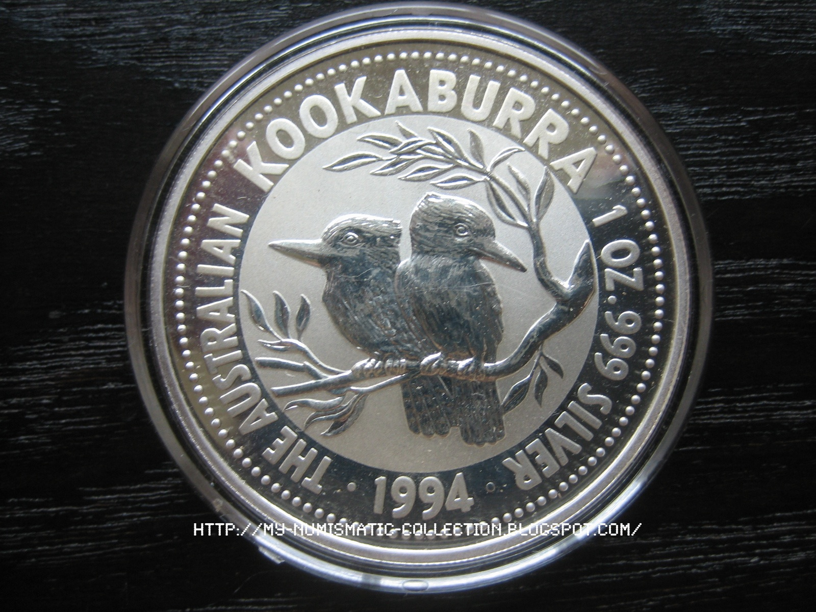 Numismatic Collection 1994 Australian Silver Kookaburra