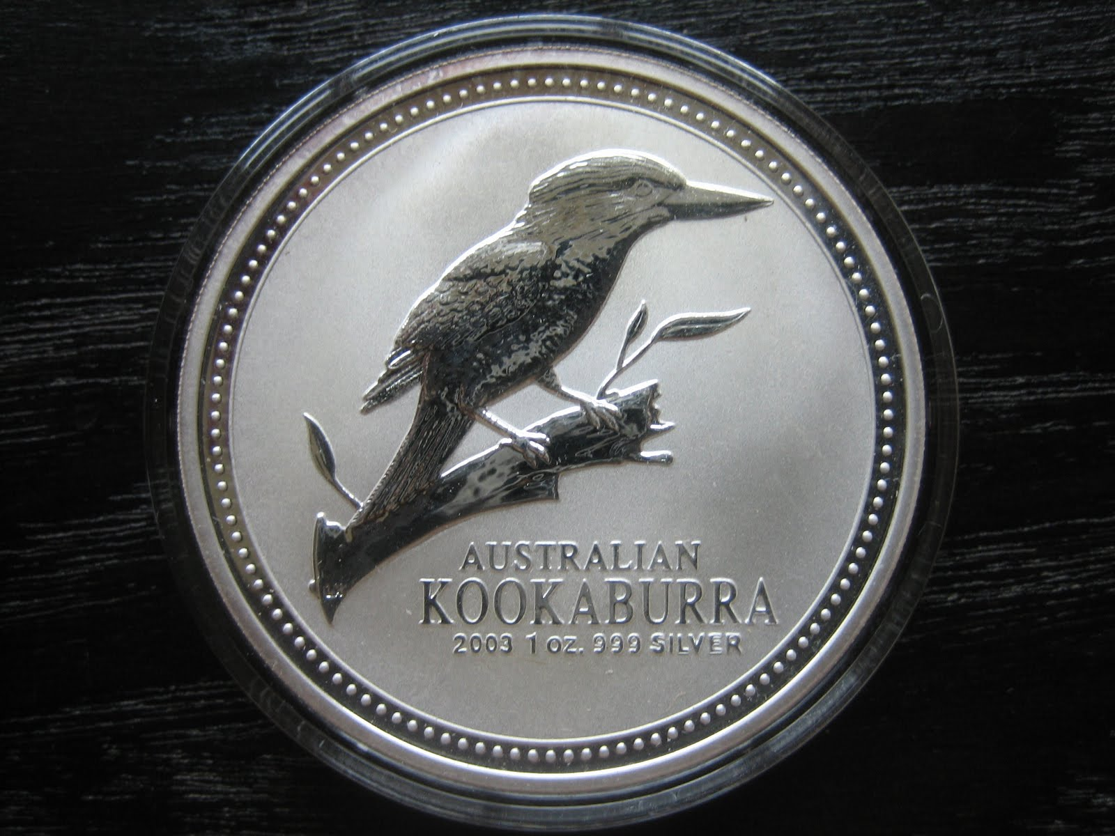 Numismatic Collection 2003 Australian Silver Kookaburra
