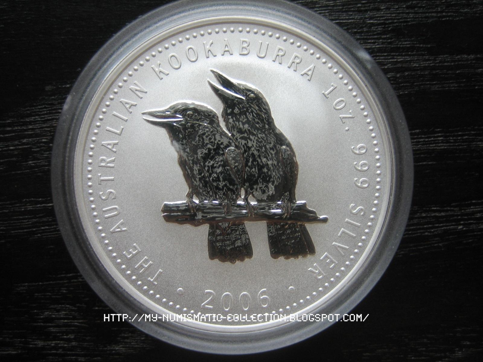Numismatic Collection 2006 Australian Silver Kookaburra
