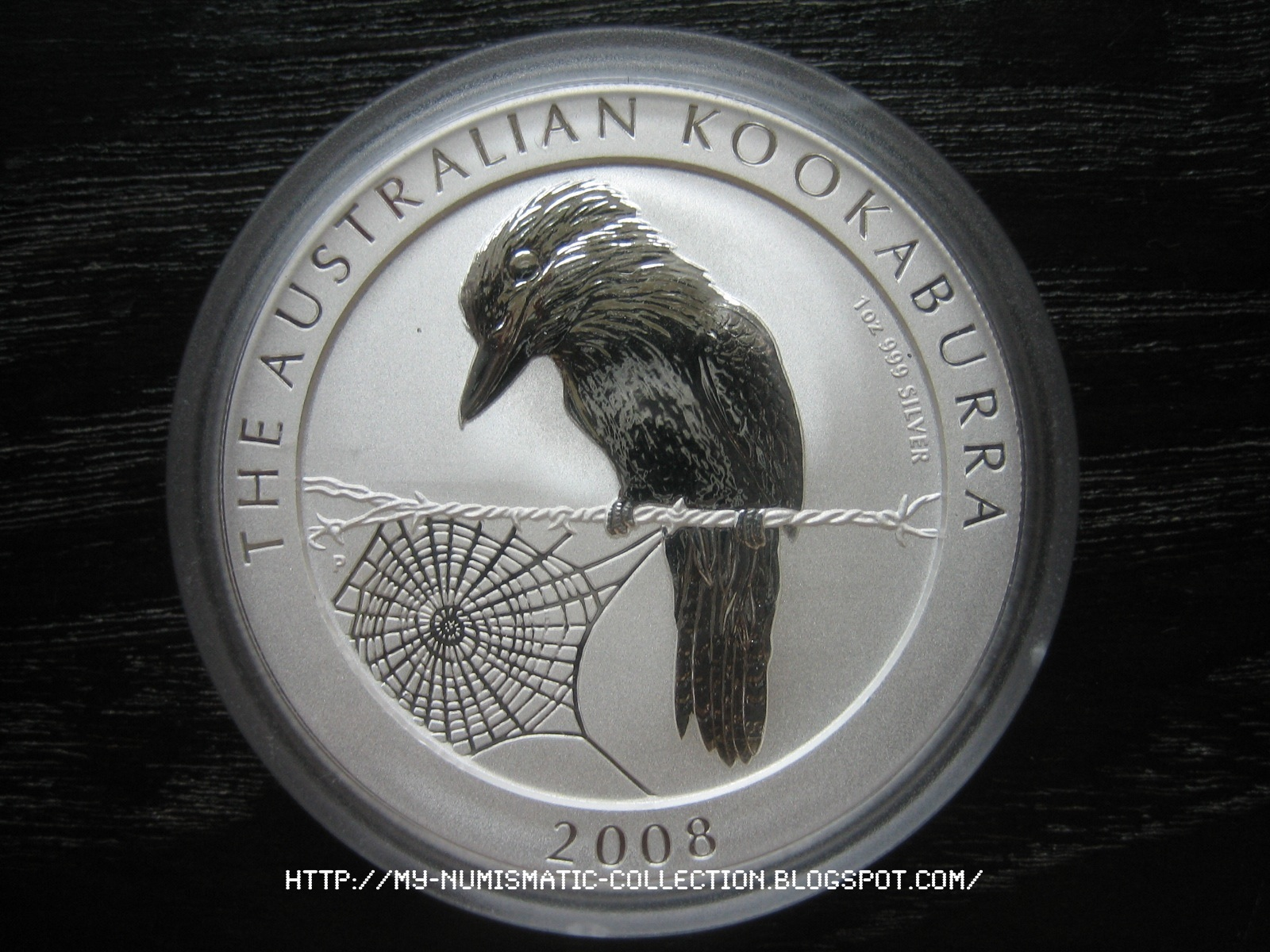 Numismatic Collection 2008 Australian Silver Kookaburra