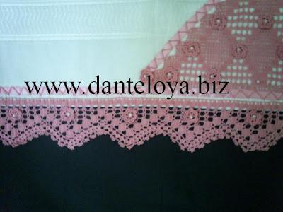 DANTEL, Havlu Kenarı, havlu kenarı modelleri, havlu kenarı örnekleri