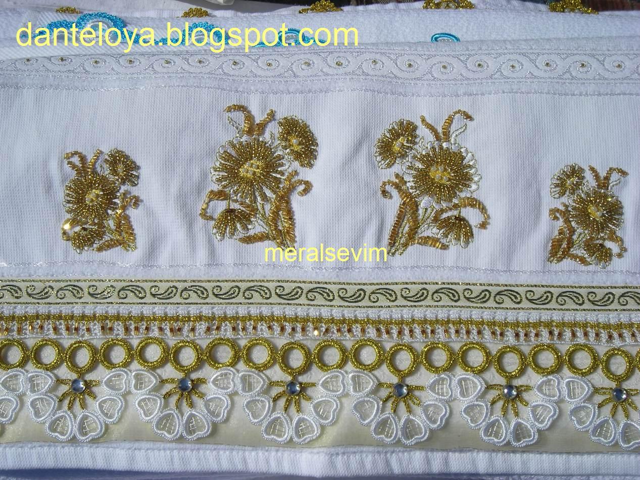Değişik havlu kenarı örnekleri