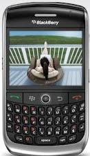 Smartphone BlackBerry Curve 8900