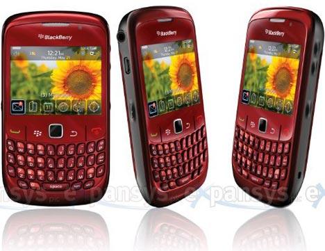 blackberry curve 8520 violet. Red BlackBerry Curve 8520