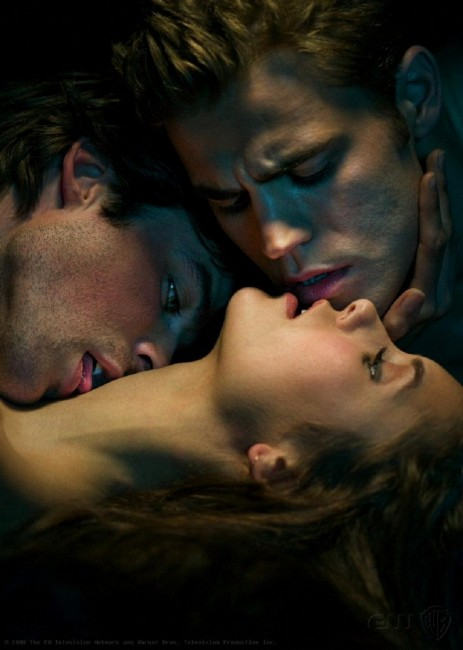Vampire Diaries Damon And Elena Wallpaper. Elena Damon Stefan Vampire