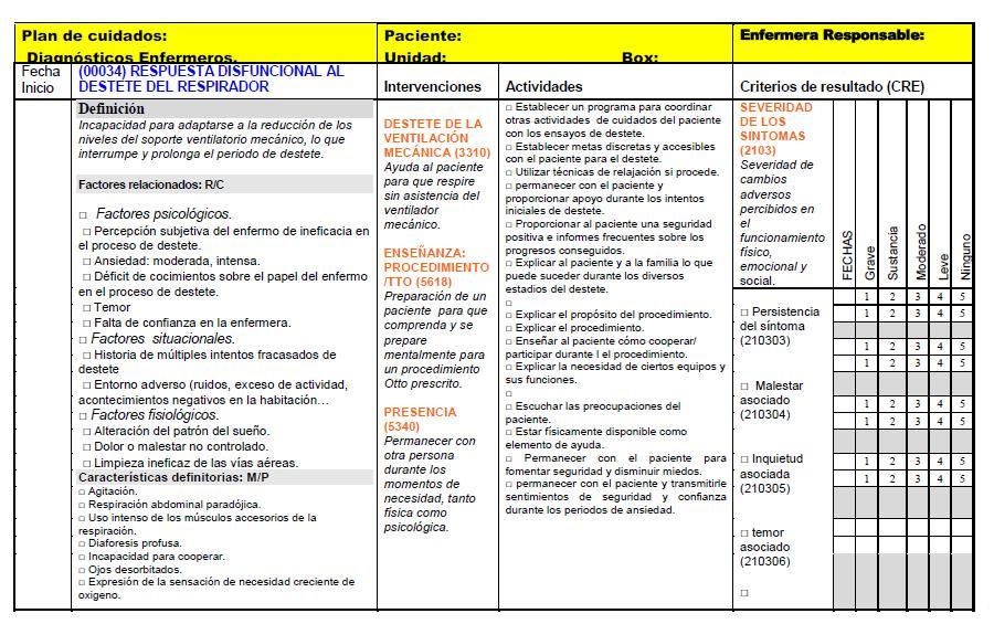 Revista electronica de Enfermeria Guayaquil-Ecuador: Plan de cuidado ...