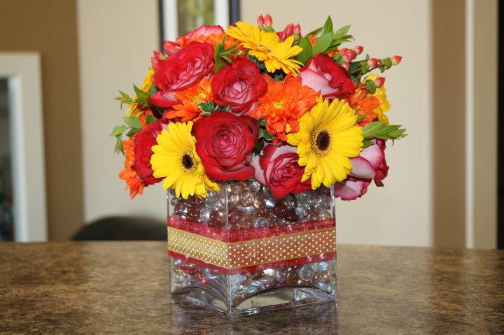 Flowers By Mel Birthday Flower Arrangement