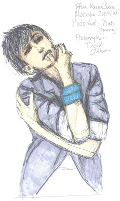 fashion illustration by Liz Blair