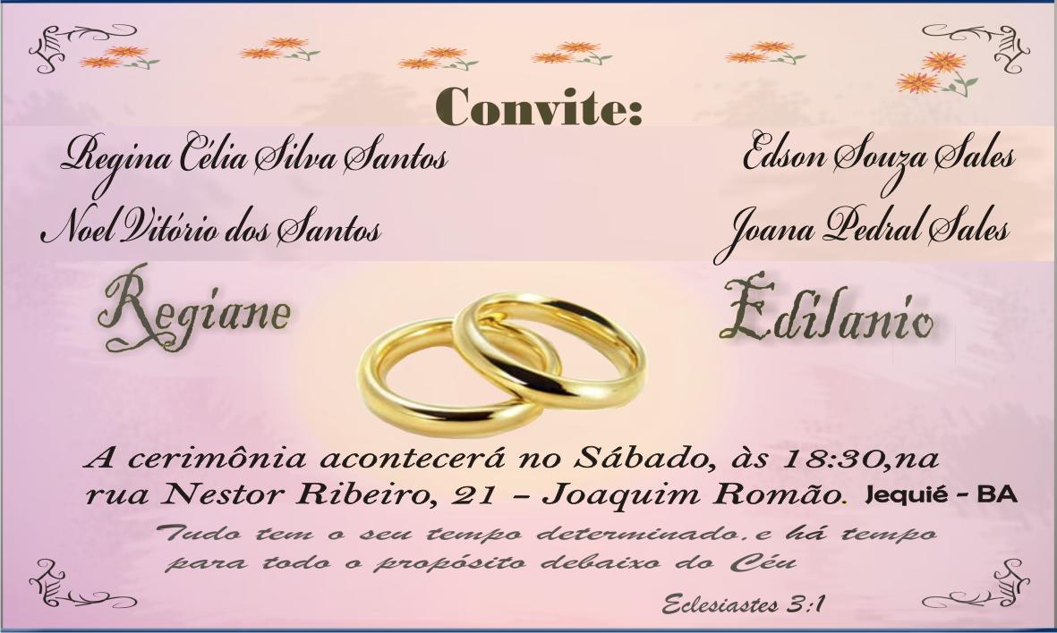 Modelos de Convite, modelo de convite de casamento e