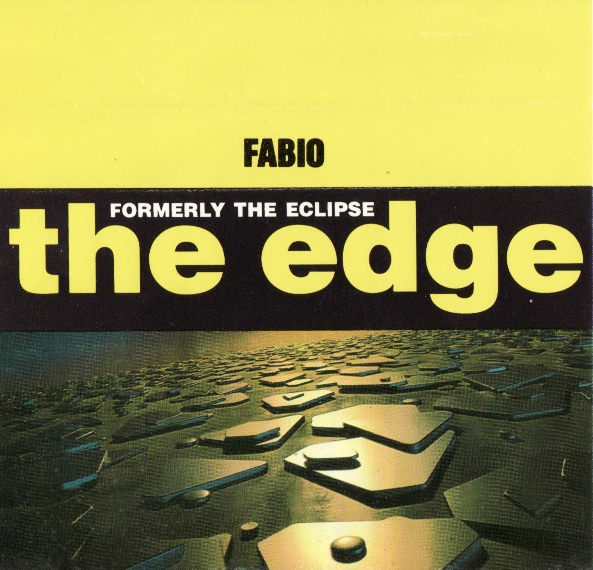 Fabio - The Edge - 2nd October 1992
