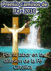 """Premio """"Caminos de la Fe"""""""