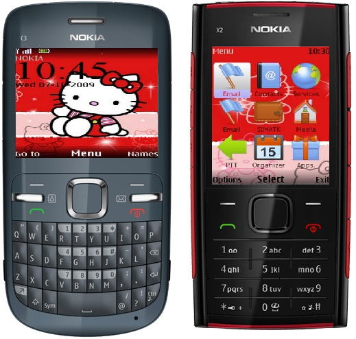 Hello kitty theme for nokia c3 and x2 00 x2 01 symbian apps