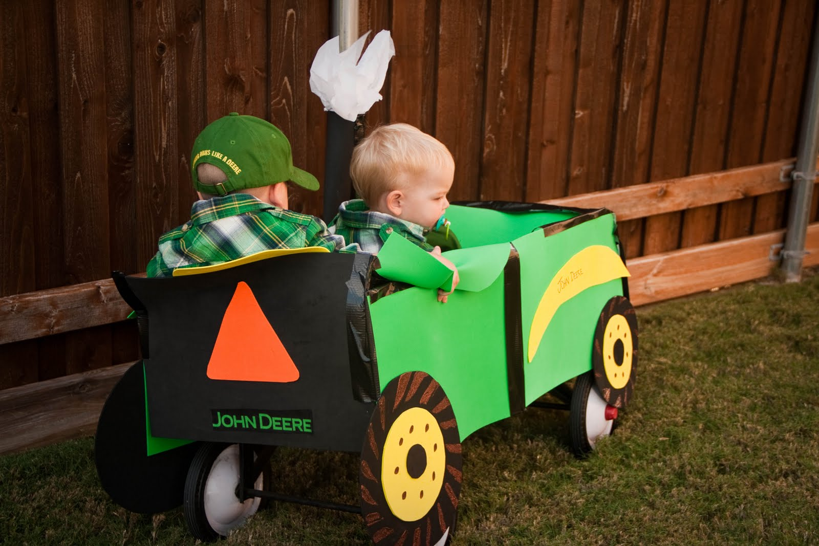 the quinlan boys: halloween 2010: the tractor drivers