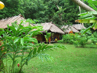 Ever wanted your ain budget bungalow inwards the jungle Best Thai Beaches : Ko Kradan