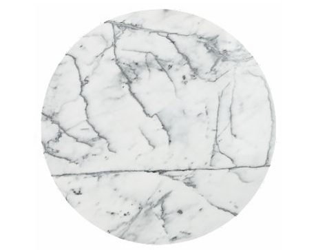 LDESIGN Coffee Tables - Cb2 round marble table