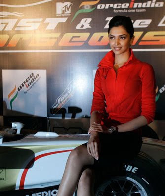 Deepika Padukone-Force India