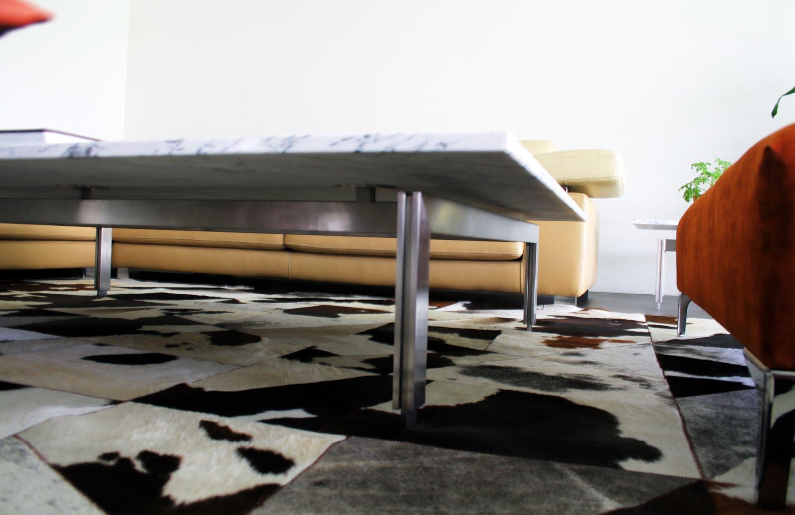 cubo 3 taller de dise o mesa de centro y lateral en acero