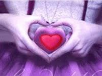 Cuida bem desse coração que te ama.