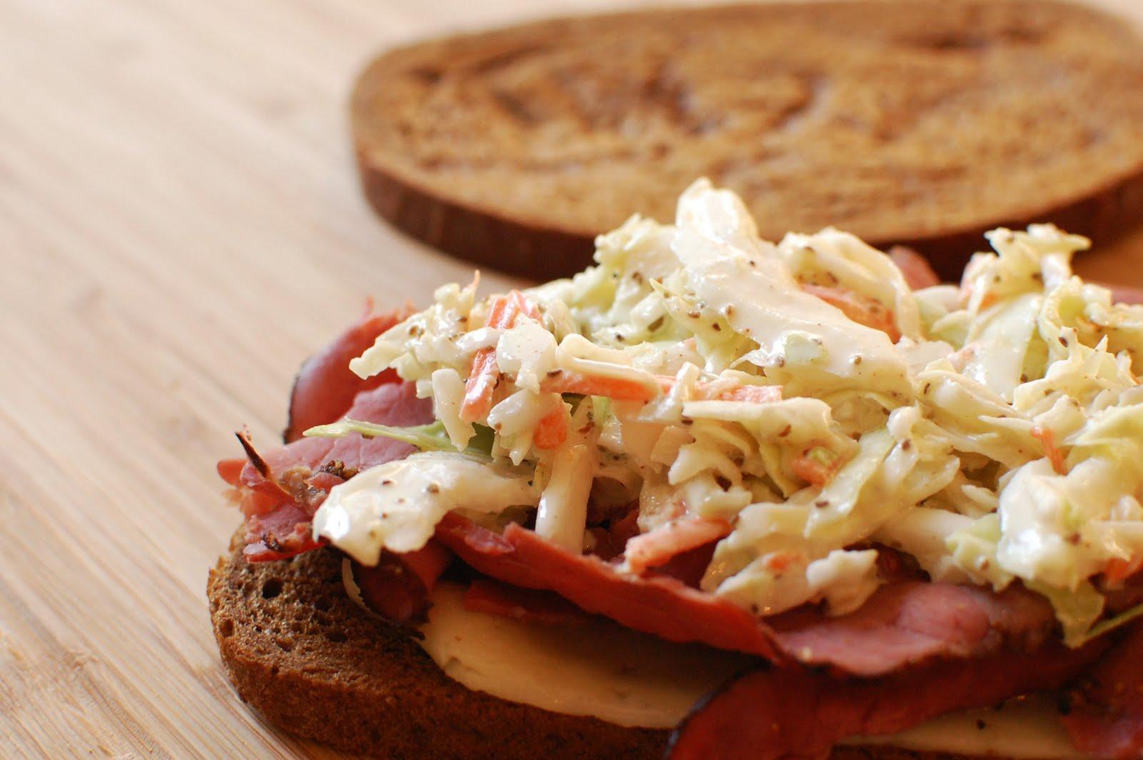 The Rachel Sandwich ~ The Beard Man's #1 Sandwich! - Or so she says...